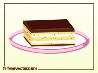 Chocolate Dessert Free Vector