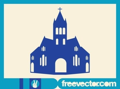 Christian Church Free Vector