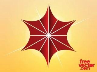 Christmas Star Icon Free Vector