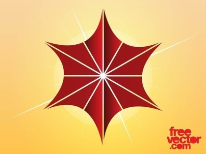 Christmas Star Icon Free Vector