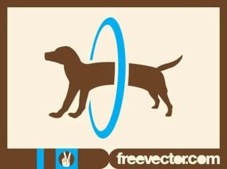Circus Dog Free Vector