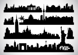 Cityscapes Free Vector