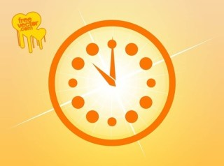 Clock Icon Free Vector