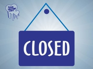 Closed Sign Free Vector