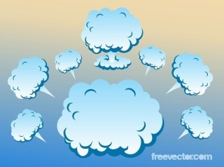 Clouds s Free Vector