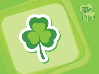 Clover Icon Free Vector