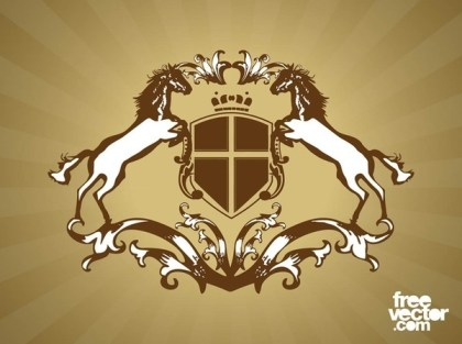 Coat of Arms Design Free Vector