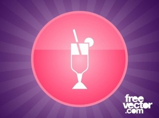 Cocktail Icon Free Vector