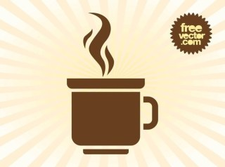 Coffee Mug Logo Free Vector