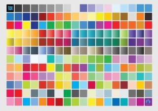 Color Chart Free Vector