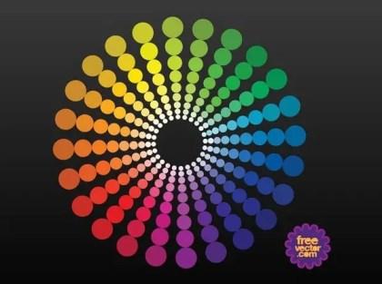 Color Wheel Free Vector