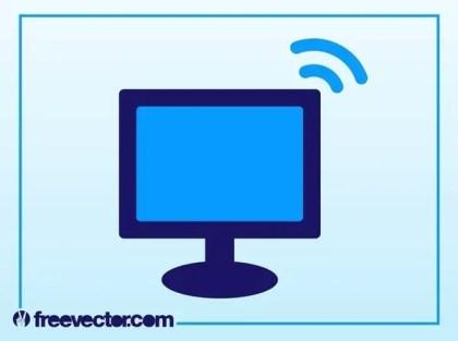 Computer Icon Free Vector