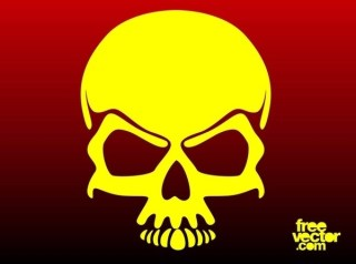 Cool Skull Free Vector