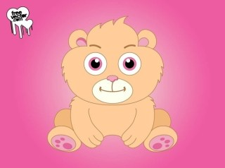 Cute Cartoon Bear Free Vector