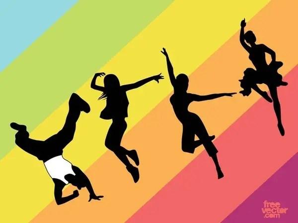 Dance s Free Vector