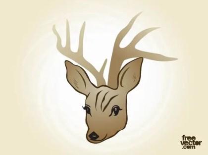 Deer Free Vector