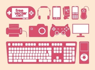 Devices Set Free Vector