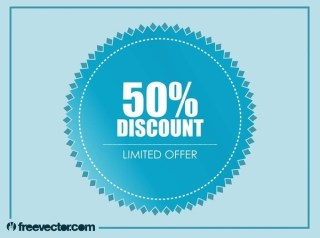 Discount Badge Free Vector