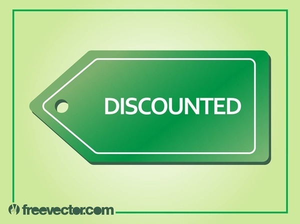 Discounted Label Free Vector