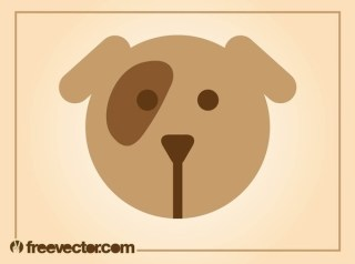 Dog Icon Free Vector