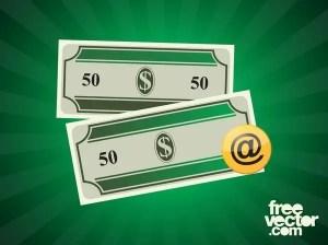 Dollar Bills Free Vector