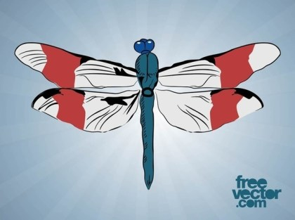 Dragonfly Free Vector