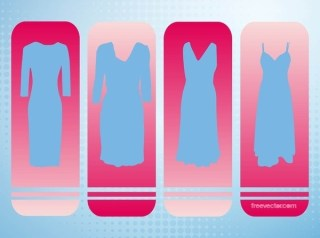 Dresses Free Vector