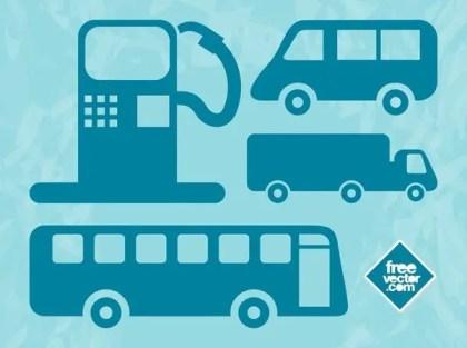 Driving Symbols Free Vector