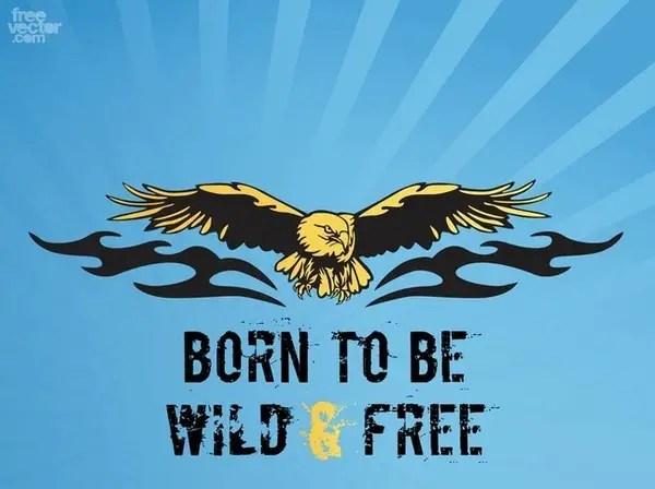 Eagle Tattoo Free Vector
