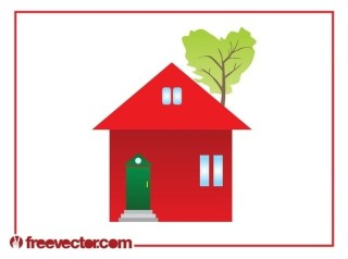 Eco House Clip Art Free Vector