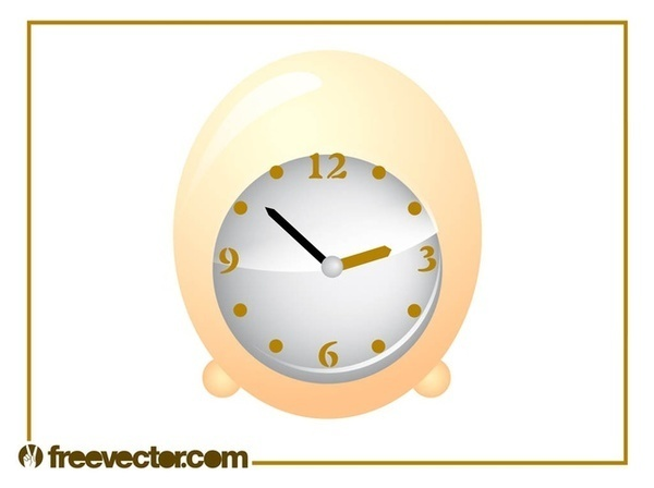 Egg Clock Free Vector
