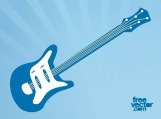 Electric Guitar Free Vector