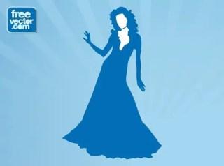 Elegant Lady Free Vector