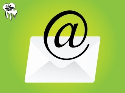 Email Design Free Vector
