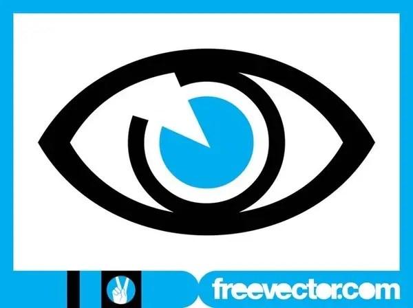 Eye Icon Free Vector