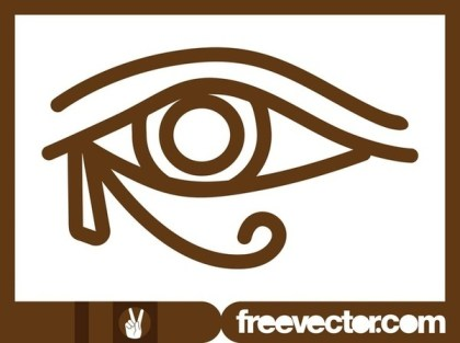 Eye of Horus Free Vector