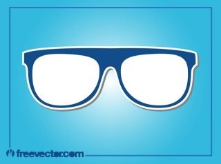 Eyewear Icon Free Vector