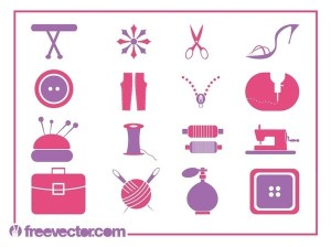 Fashion Symbols Free Vector