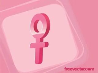 Female Gender Symbol Free Vector