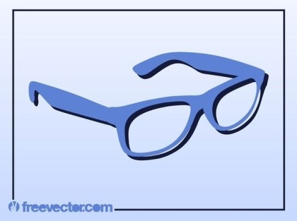Glasses Free Vector