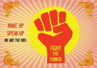 Fight The Power Free Vector