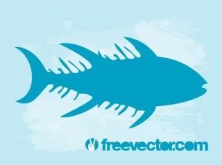 Fish Silhouette Free Vector