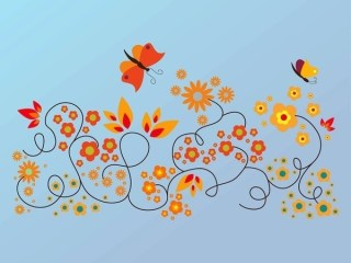 Floral Summer Free Vector