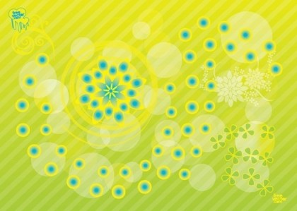 Flower Background Free Vector
