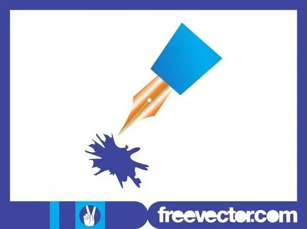 Fountain Pen Free Vector