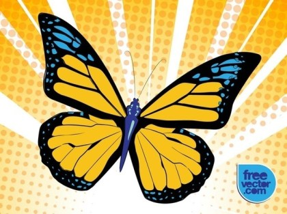 Free Butterfly Free Vector