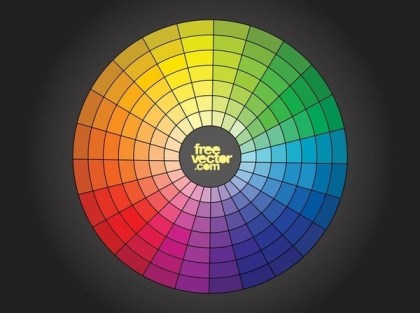 Free Color Wheel Free Vector