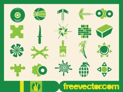 Fresh Icons Free Vector