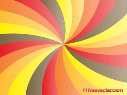 Glossy Starburst Background Free Vector