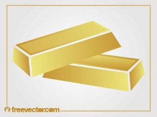 Gold Bars Free Vector